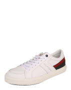 TOMMY HILFIGER, Heren Sneakers laag 'Moon', wit