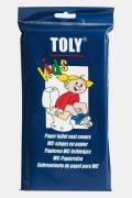 Toly WC-Brildekjes Kinderen 30 Stuks Papier Geen Kleur
