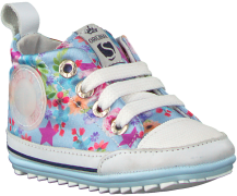Blauwe Shoesme Babyschoenen Bp9s004