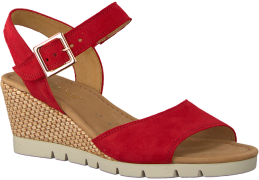 Rode Gabor Sandalen 842