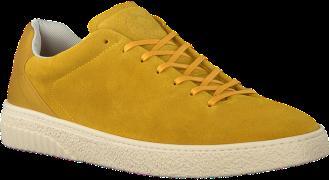 Gele Scotch & Soda Lage Sneakers Brilliant