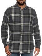 Polo Ralph Lauren Flanellen shirt in grijs voor Heren, grootte: S